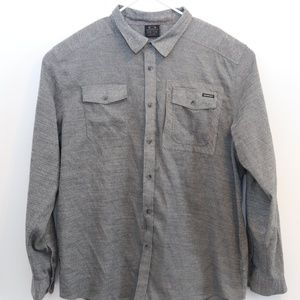 Mens Vintage Oakley Long Sleeve Button Up Shirt